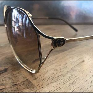 Gucci Accessories - Supa Fly Authentic Gold Gucci Sunglasses